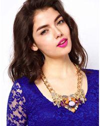 ASOS Collection - Multicolor Asos Pretty Tough Necklace - Lyst