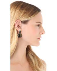 Erickson Beamon - Blue Envy Earrings - Lyst