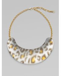 Alexis Bittar - Gray Zanzibar Spotted Necklace - Lyst