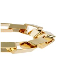 ASOS Collection - Metallic Limited Edition Two Pack Square Link Bracelets for Men - Lyst