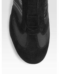 BOSS Orange - Black Slip-on Sneakers for Men - Lyst