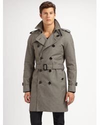 Burberry | Gray Trench 37 Classic Trench for Men | Lyst