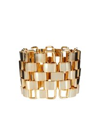 French Connection - Metallic Multi Link Bracelet - Lyst