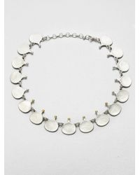 Gurhan | Metallic Musk 24k Yellow Gold & Sterling Silver Link Necklace | Lyst