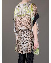 Roberto Cavalli - Multicolor Oversize Dress - Lyst