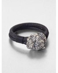 Scott Kay | Black Pit Bull Bracelet for Men | Lyst