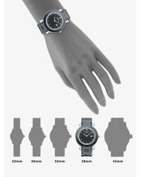 Fendi | Black Diamond, Ceramic & Stainless Steel Bracelet Watch | Lyst