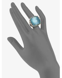 Stephen Webster | Blue Quartz & Sterling Silver Ring | Lyst