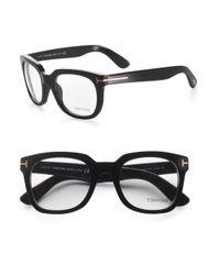 Tom Ford | Black Retro Optical Frames for Men | Lyst