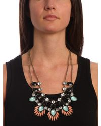 BaubleBar - Black Onyx Phoenix Necklace - Lyst