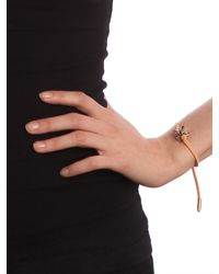 BaubleBar - Orange Single Snake suede Bracelet - Lyst