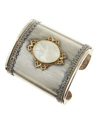 Konstantino | Metallic Mother Of Pearl Cuff | Lyst