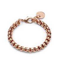 1AR By Unoaerre | Metallic Venetian Link Bracelet | Lyst