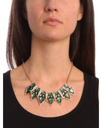 BaubleBar - Green Emerald Garbo Necklace - Lyst