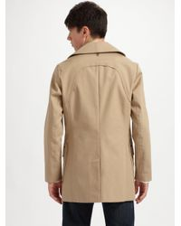 Mackage - Natural Bonded Cotton Trench for Men - Lyst
