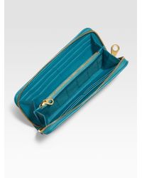 Marc By Marc Jacobs - Blue Too Hot To Handle Slim Ziparound Wallet for Men - Lyst