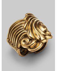 Oscar de la Renta - Metallic Coquillage Bracelet - Lyst