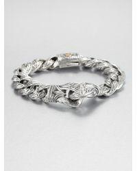 Scott Kay | Metallic Silver Guardian Bracelet | Lyst