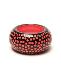 Sonia Rykiel | Black Polka Dot Bangle | Lyst