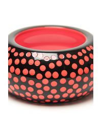 Sonia Rykiel - Black Polka Dot Bangle - Lyst