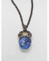 Stephen Webster | Blue Cancer Astro Crystal Ball Pendant Necklace | Lyst