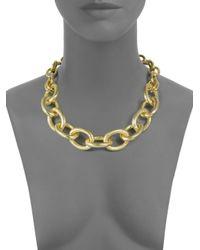 1AR By Unoaerre - Metallic Multi Link Necklace - Lyst