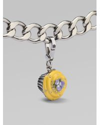 Juicy Couture | Metallic Cupcake Charm | Lyst