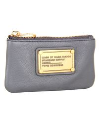 Marc By Marc Jacobs | Gray Classic Q Key Pouch | Lyst