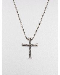 Stephen Webster | Metallic Silver Cross Pendant for Men | Lyst