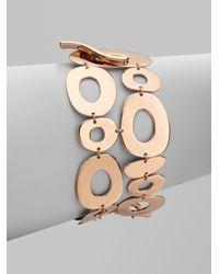 Ippolita - Pink Rose Mosaico Two-Row Toggle Bracelet - Lyst