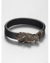 John Hardy | Metallic Dragon Head Bracelet for Men | Lyst