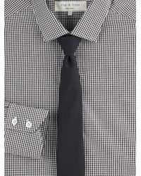 Rag & Bone | Black Skinny Wool Tie for Men | Lyst