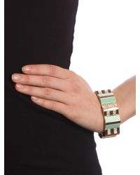 BaubleBar | Green Mint Block Glam Cuff | Lyst