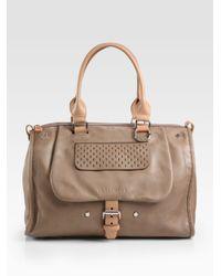 Longchamp - Natural Balzane Top Handle Bag - Lyst