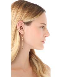Shashi - Metallic Nugget Earrings - Lyst