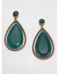 Stephen Dweck | Green Agate Drop Earrings | Lyst