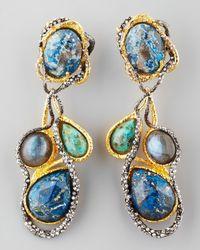 Alexis Bittar | Multicolor Cordova Vine Clip Earrings | Lyst