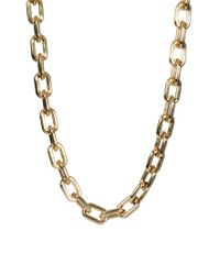 ASOS Collection - Metallic Limited Edition Long Open Link Necklace - Lyst