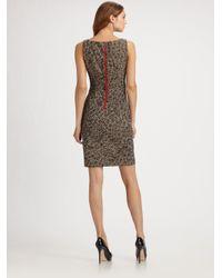 Callula Lillibelle - Multicolor Animal Print Jaquard Dress - Lyst
