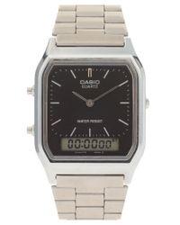 G-Shock | Gray Aq-230a-1dmqyes Bracelet Timer Watch | Lyst