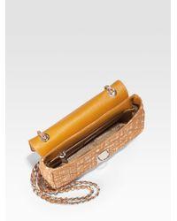 Prada | Brown Faille Push-lock Shoulder Bag | Lyst