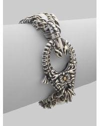 Stephen Webster | Metallic Pearl & Sterling Silver Lobster Clasp Bracelet | Lyst