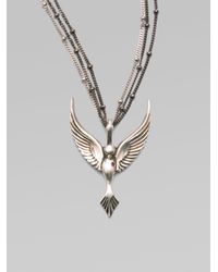 Stephen Webster | Metallic Ruby Sterling Silver Nightingale Necklace | Lyst