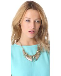 Alexis Bittar - Metallic Durban Beak Necklace - Lyst
