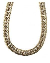 AllSaints | Metallic Estelle Necklace | Lyst