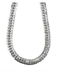 AllSaints - Metallic Estelle Necklace - Lyst