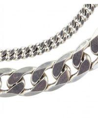 AllSaints - Metallic Estelle Bracelet - Lyst