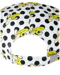 ASOS | White 5 Panel Cap with Banana Polka Dot Print for Men | Lyst