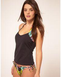 Freya - Multicolor Calypso Reversible Tie Side Bikini Bottom - Lyst