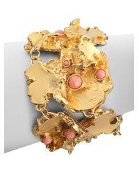 Kara Ross - Metallic Coral Cluster Bracelet - Lyst